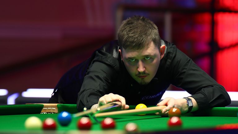 Kyren Wilson discusses the challenges of playing at the World Championship after he lost a stone in weight at last year's tournament in Sheffield
