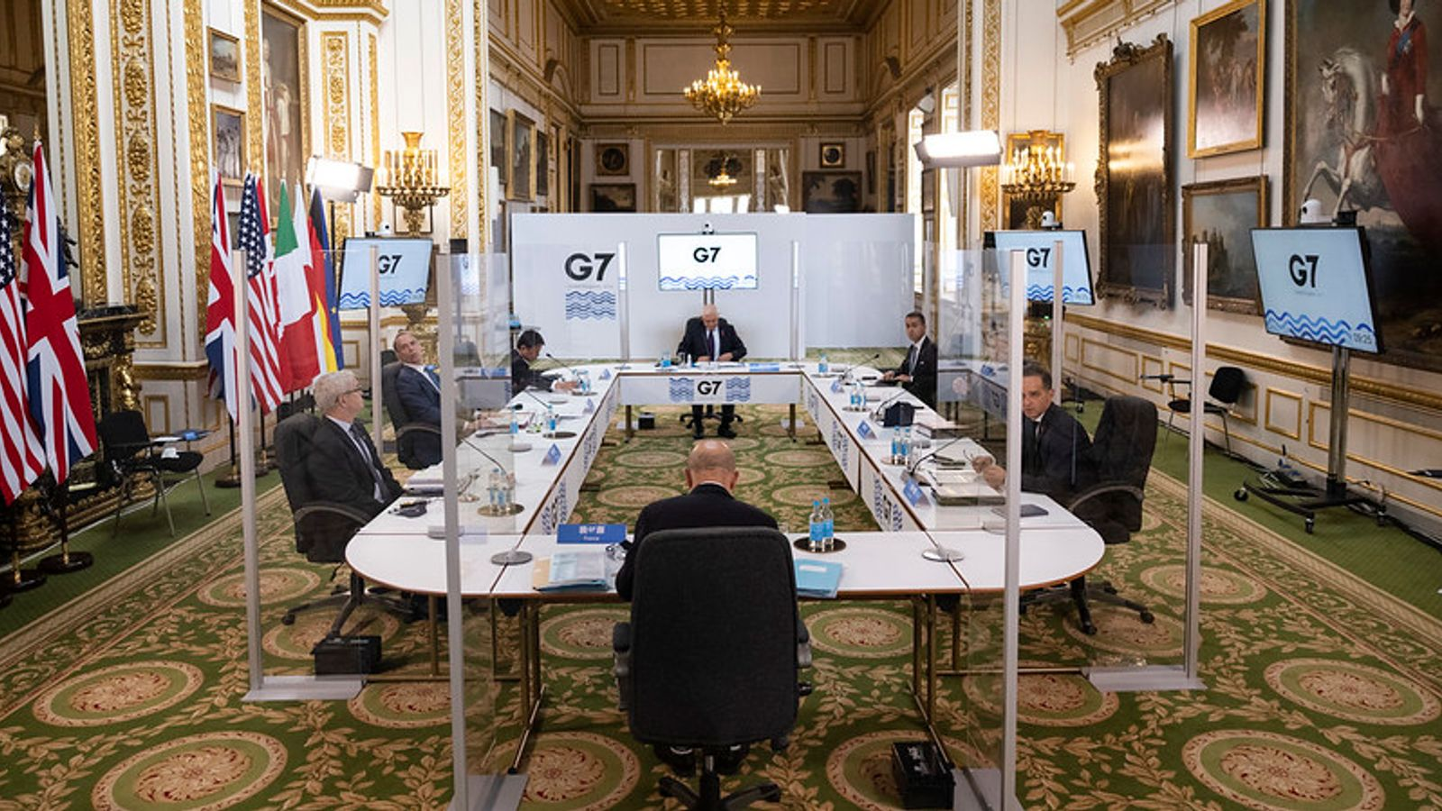 G7 nations hit out at Russia and China - but fail to establish action against them