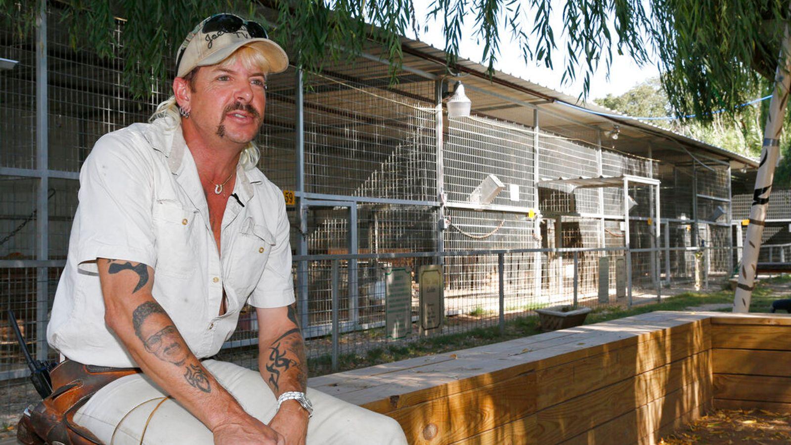 'Tiger King' Joe Exotic should have been given shorter prison sentence, appeals court rules