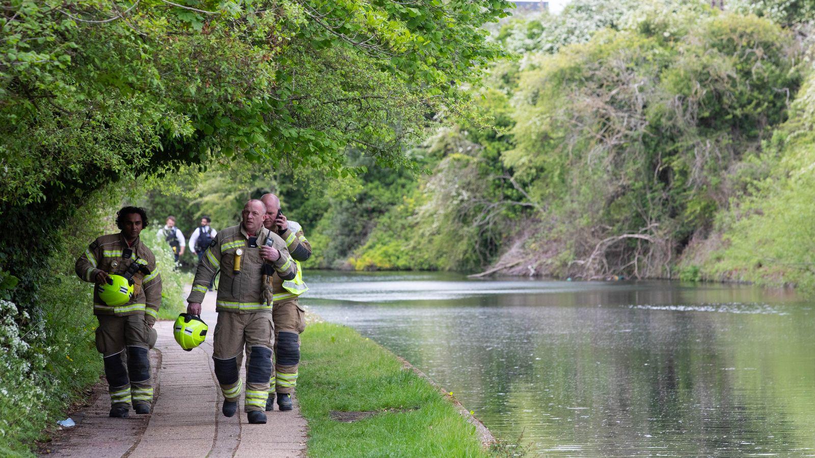 Newborn baby found dead in London canal