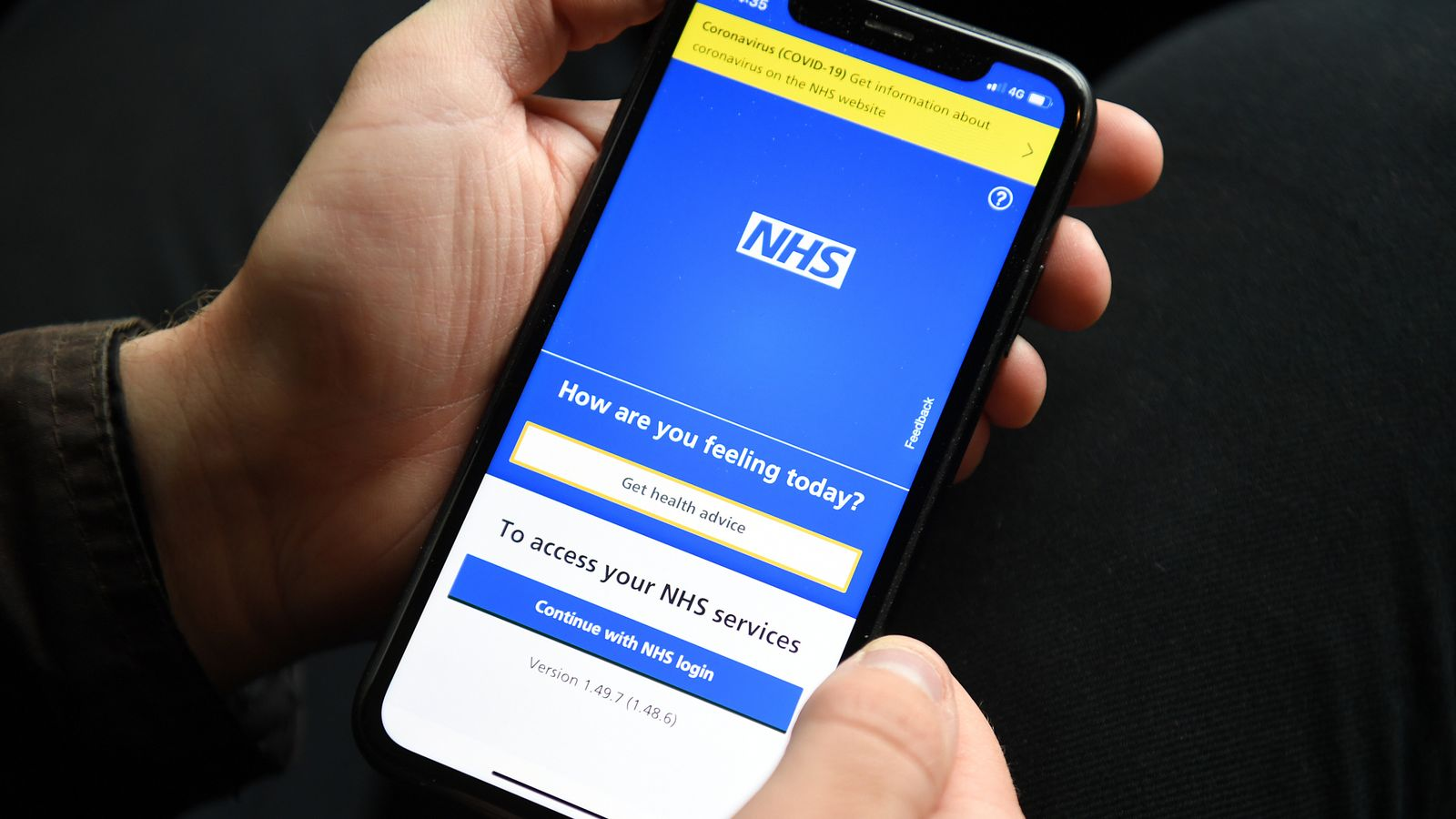 COVID-19: More than half a million people in England pinged by NHS test and trace app in a week, the highest figure recorded