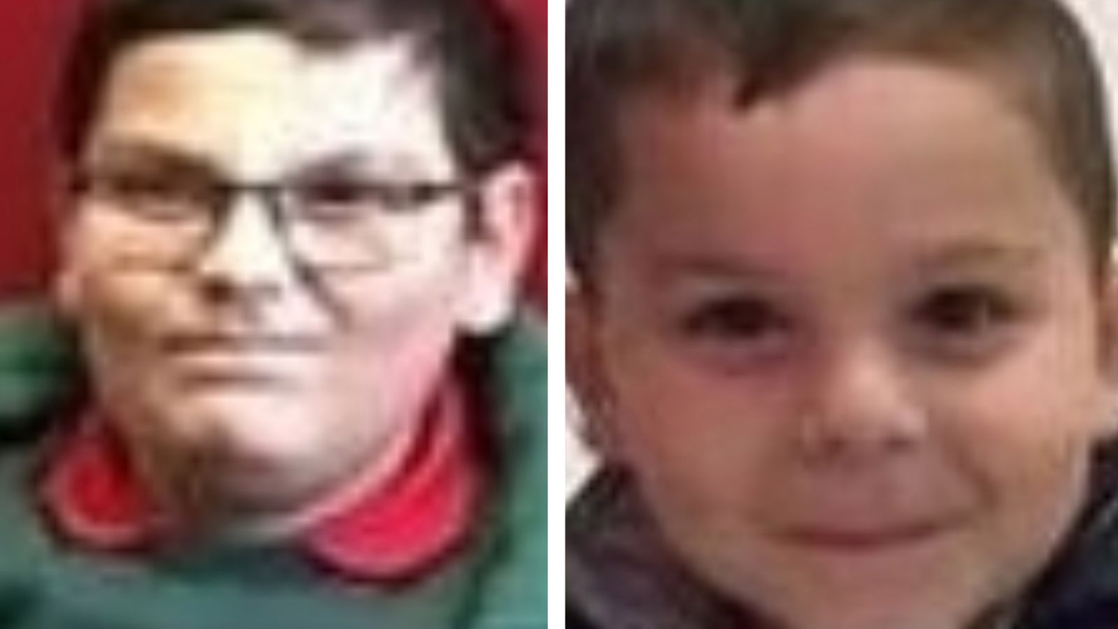 Police 'increasingly concerned' about missing Belfast brothers aged eight and five