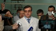 Mr Murakhovsky was chief doctor of the hospital in Omsk
