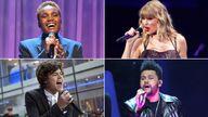 Arlo Parks, Taylor Swift, The Weeknd, Harry Styles