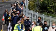 Thousands queued up for walk-in vaccinations in Bolton