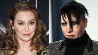 Esme Bianco's lawyers allege she suffers PTSD, anxiety, depression and panic attacks as a result of Manson's actions. Pic: AP