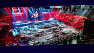 The Eurovision stage is set in Rotterdam. Pic: EBU/Nathan Reinds