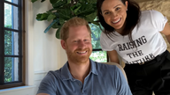 Meghan and Harry appear in the trailer. Pic: YouTube