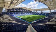 Dragao stadium in Porto, Portugal. Filc pic: AP