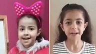 (L-R) Rula Mohammad al Kawlak and Yara Mohammad al Kawlak. Images: Family photos/DCIP/NRC