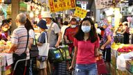 Taiwan has seen a surge in cases