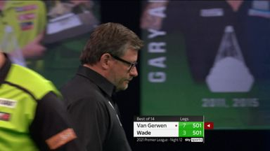 Wade fights back with 132 checkout
