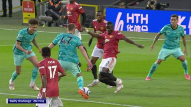 Was Bailly's challenge a penalty?