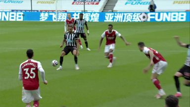 Should Xhaka have been sent off?