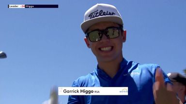 Higgo enjoys first hole-in-one as a pro