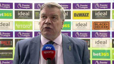 Allardyce: Two big decisions went against us