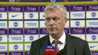 Moyes: Champions League dream is over