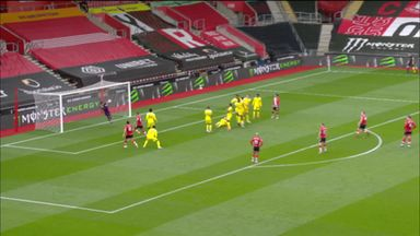Areola saves Ward-Prowse free-kick (36)