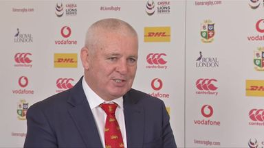 Gatland explains his squad selection