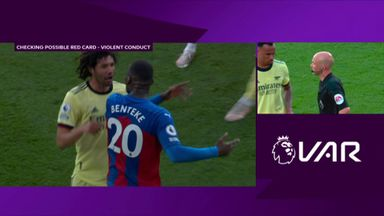 Should Palace have had two red cards?
