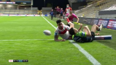 Challenge Cup QF: St Helens 23-18 Huddersfield