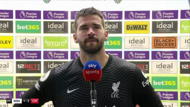 Alisson: God was on my side today