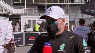 Bottas: I'm not here to let people through!
