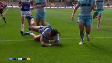 Hurrell finishes off brilliant team effort
