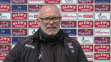Hughes delighted as Ross County survive