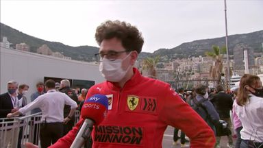 Binotto: Leclerc didn't have a gearbox failure