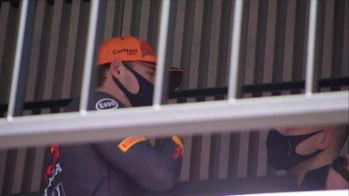 Verstappen fastest in FP3