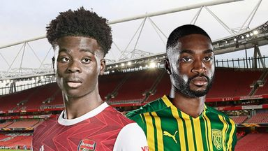 Arsenal v West Brom
