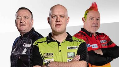 Premier League Darts: Night 12