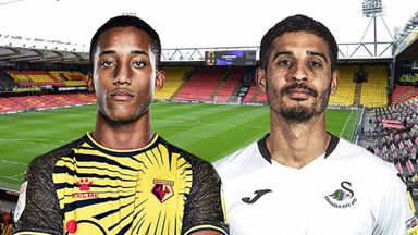 EFL Hlts: Watford v Swansea City