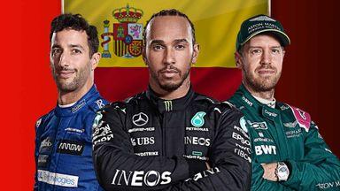 Spanish GP: Chequered Flag