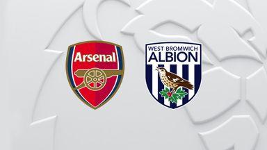 PL: Arsenal v WBA