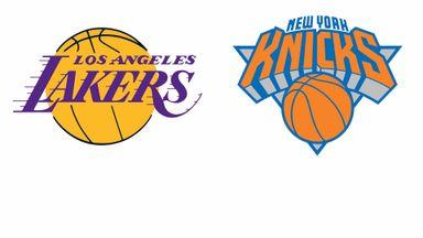 NBA Week 21: New York @ LA Lakers
