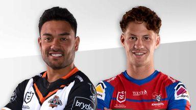 NRL: Wests Tigers v Knights