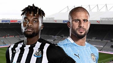 PL: Newcastle v Manchester City
