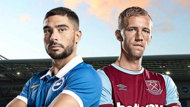 PL: Brighton v West Ham
