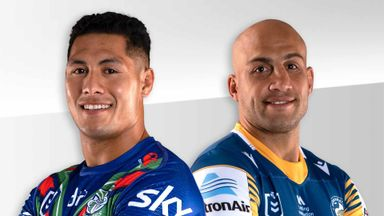 NRL: Warriors v Eels