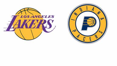 NBA: LA Lakers @ Indiana