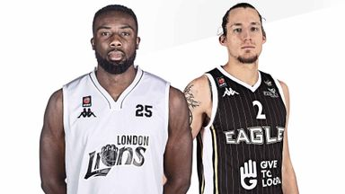 BBL Finals: London v Newcastle