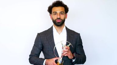 Salah dedicates Laureus Award to sports fans