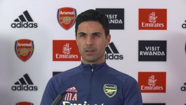 Arteta: Some Arsenal players haven't given their all