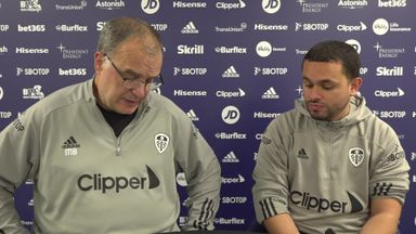 Bielsa: Great to have fans back, even partially