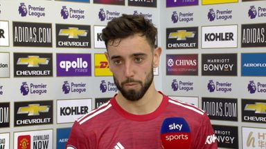 Fernandes: I don't think I touched the ball