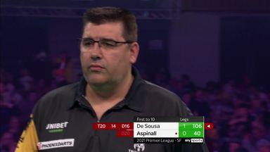 De Sousa secures early break