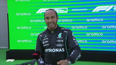 Top 3: Hamilton, Verstappen, Bottas