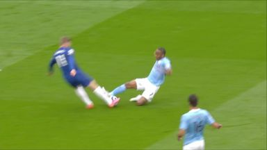 Ref Watch: Should Sterling have been sent off?